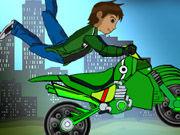 Ben 10 si Motocicleta