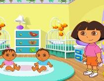 Dora si Bebelusii Gemeni