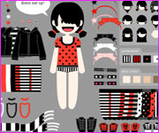 Emo Girl Dress up