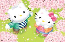 Puzzle cu Hello Kitty