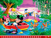 Puzzle cu Mickey Mouse