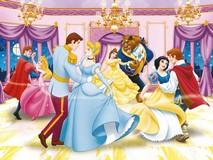 Puzzle cu Printi si Printese Disney