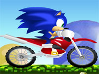 Sonic x pe Motocicleta