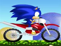 Sonic x pe Motocicleta