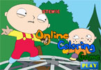 Stewie Griffin de Colorat